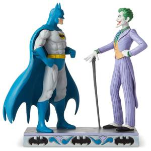 DC Comics by Jim Shore Batman™ vs The Joker Figurine 21.5cm