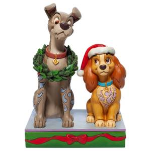 Disney Traditions Lady and the Tramp Figurine 14cm