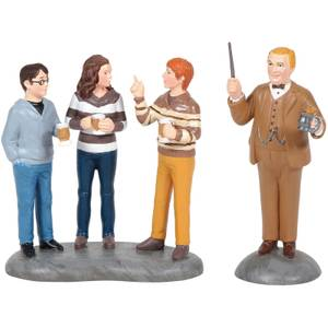 Harry Potter Village Professor Slughorn and His Students 7cm