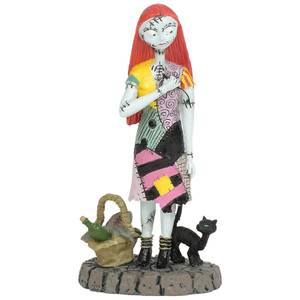The Nightmare Before Christmas Village Sally's Date Night Figurine 9cm