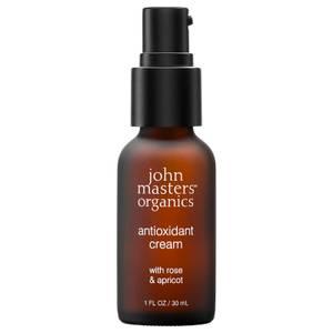 John Masters Organics Antioxidant Cream with Rose & Apricot 30ml