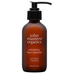 John Masters Organics Exfoliating Face Cleanser with Jojoba & Ginseng 112ml