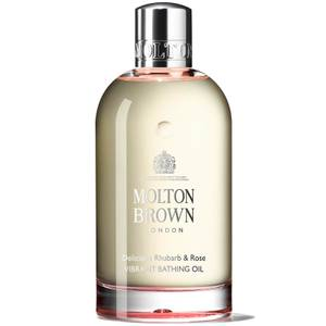Molton Brown Delicious Rhubarb and Rose Vibrant Bathing Oil 200ml
