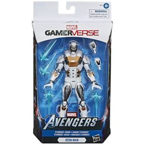 Figura de acción Iron Man con armadura Starboost - Hasbro Marvel Legends Series Gamerverse
