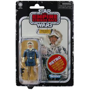 Star Wars Retro Collection, figurine Han Solo (Hoth)
