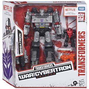 Battle pack de 3 avec Megatron inspiré de Transformers War for Cybertron