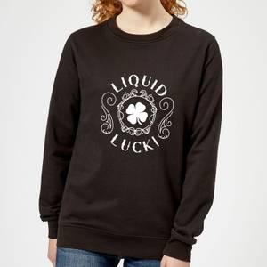 Liquid Luck Women's Sweatshirt - Black