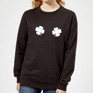 Lucky Boobs Women's Sweatshirt - Black