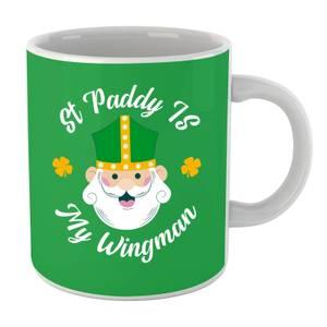 St Paddy Is My Wingman Mug