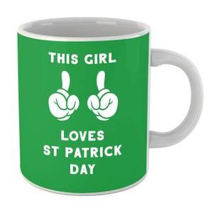 This Girl Loves St Patrick Day Mug