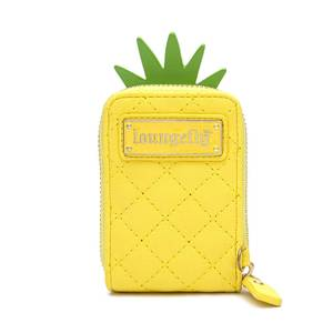 Loungefly Pool Party Pineapple Accordian Wallet