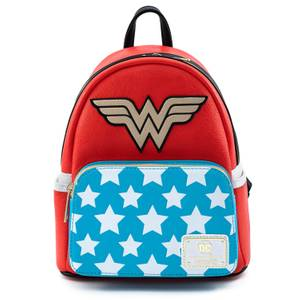 Loungefly Dc Comics Dc Comics Vintage Wonder Woman Cosplay Mini Zaino