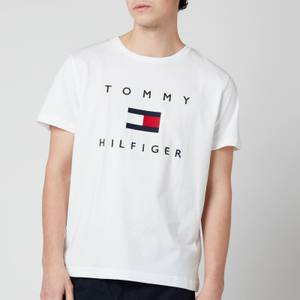 Tommy Hilfiger Men's Flag T-Shirt - White