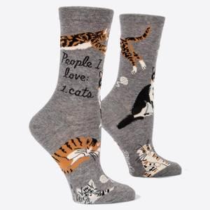 People I Love: Cats - Women's Socks