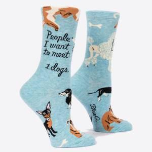 People I Want to Meet: Dogs - Women's Socks