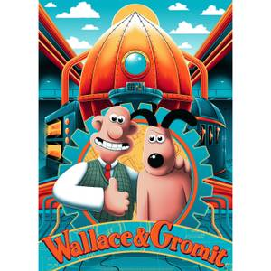 Wallace and Gromit Lithograph by Arno Kiss
