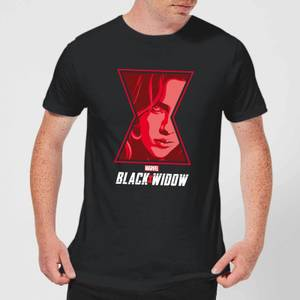 T-Shirt Black Widow Close Up - Nero - Uomo