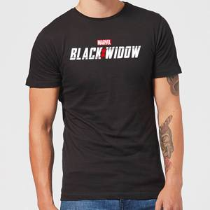 T-Shirt Black Widow Movie Logo - Nero - Uomo