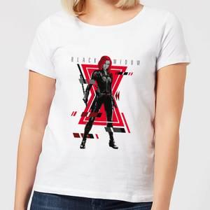 Black Widow Portrait Pose Women's T-Shirt - White