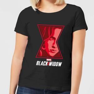 Black Widow Close Up Women's T-Shirt - Black