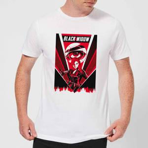 T-Shirt Black Widow Red Lightning - Bianco - Uomo