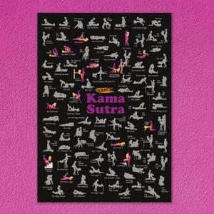 Scratch Poster - Kama Sutra