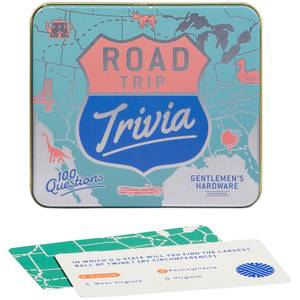 Gentlemen's Hardware Road Trip Trivia Cards
