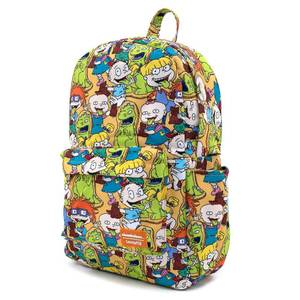 Loungefly Nickelodeon Rugrats Aop Nylon Backpack
