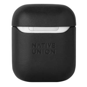 Native Union Classic Leather Airpods Case - Black