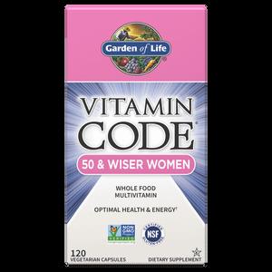Комплекс витаминов Vitamin Code для женщин 50 лет и старше — 120 капсул