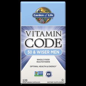Комплекс витаминов Vitamin Code для мужчин 50 лет и старше — 120 капсул