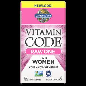 Комплекс витаминов Vitamin Code Raw One для женщин — 30 капсул