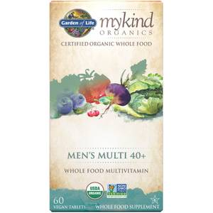 mykind Organics Men's 40+ Multi - 60 Tablets