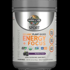 Sport Organic Plant-Based Energy - Blackberry - 432g