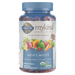mykind Organics Multivitamines Hommes - Baies - 120 Comprimés à Croquer