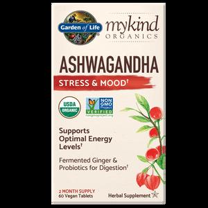 mykind Organics Herbal Ashwagandha - 60 Tablets