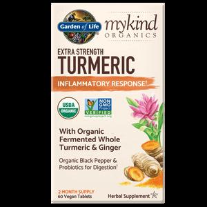 mykind Organics Kräuter Kurkuma - Extrastark - 60 Tabletten