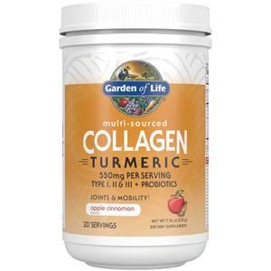 Collagene e curcuma - mela e cannella - 220g