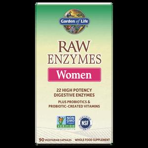 Raw Enzyme für Frauen - 90 Kapseln
