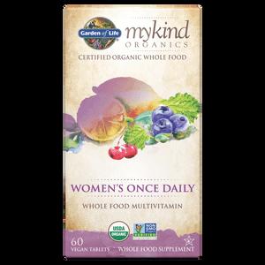 Мультивитаминный комплекс для женщин mykind Organics Women's Once Daily - 60 таблеток