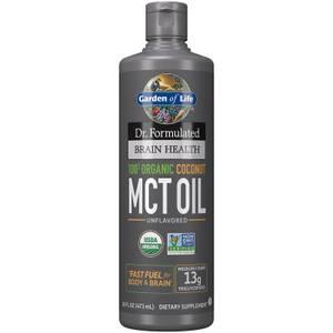 Gehirngesundheit Bio-Kokos-MCT Öl - 473 ml