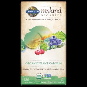 mykind Organics Calcio vegetale - 180 compresse