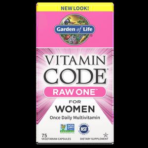 Vitamin Code Raw One For Women - 75 Capsules