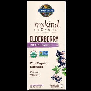 mykind Organics Herbal Elderberry Syrup - 195ml