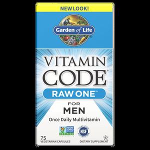 Комплекс витаминов Vitamin Code Raw One для мужчин — 75 капсул