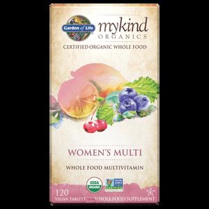 mykind Organics Мультивитаминный комплекс для женщин - 120 таблеток