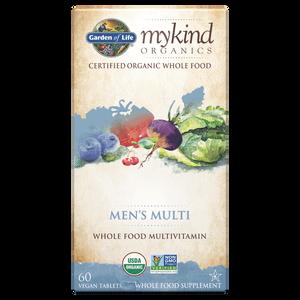 mykind Organics Multivitamines Hommes - 60 Comprimés