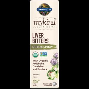 mykind Organics Herbal Spray pour le Foie - 58ml