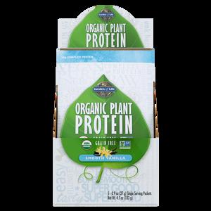 Organic Plant Protein - Vanilla - 5 Sachets - 133g (26.5 per sachet)