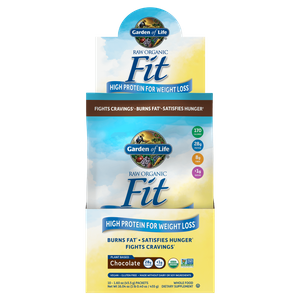 RAW Organic Протеиновая добавка для снижения веса - Шоколад - 10 пакетиков